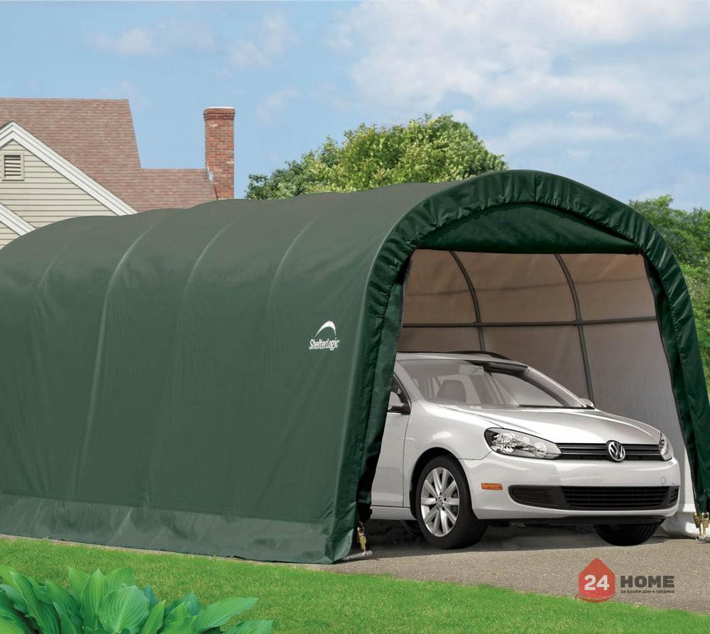 Навес за автомобил ShelterLogic 3x6.1 м, овален