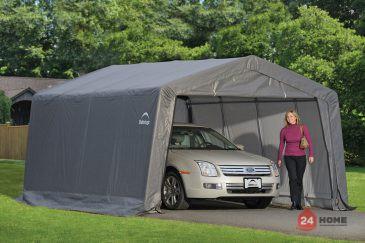 Навес за автомобил ShelterLogic 3.7x4.9 м