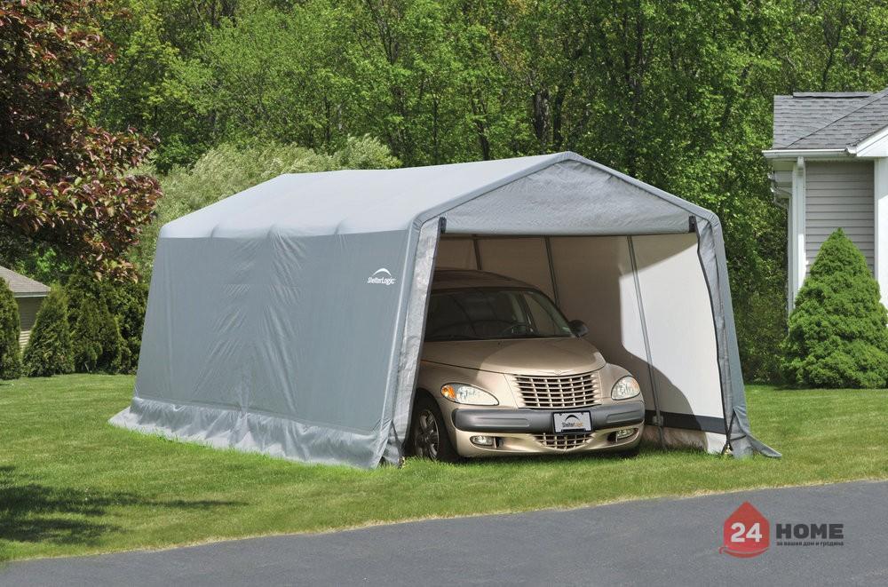 Навес за автомобил ShelterLogic 3x6.1 м
