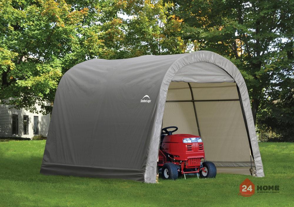 Навес за двор ShelterLogic 3x3 м, овален