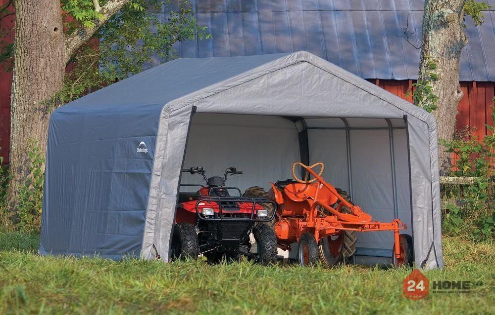 Навес за автомобил ShelterLogic 3.7х3.7 м