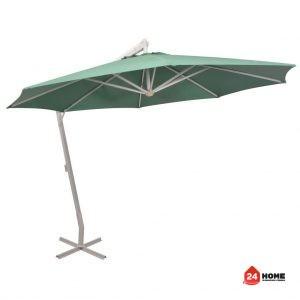 Висящ-чадър-за-слънце-350-см-алуминиев-прът-зелен-SUNNY-5