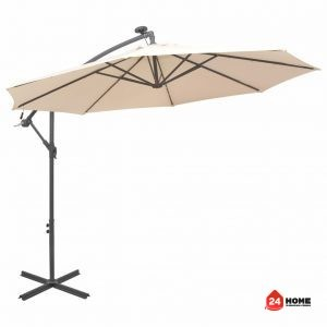 Висящ-чадър-с-LED-осветление-300-см-пясъчен-метален-прът-SUNNY-8