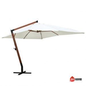 Свободновисящ чадър-за-слънце-300х400-см-бял-SUNNY-5