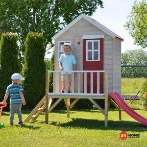 Детска-къща-Nodric-Garden-с-тераса-и-пързалка-M4-8