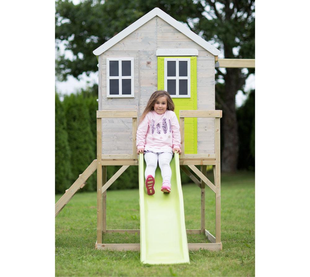Детска-къща-Summer-Adventure-с-тераса-пързалка-и-люлка-M24L-2