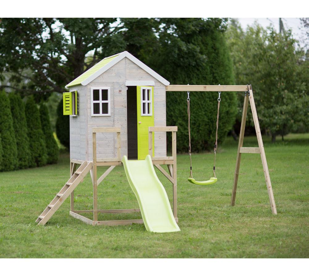 Детска-къща-Summer-Adventure-с-тераса-пързалка-и-люлка-M24L-6