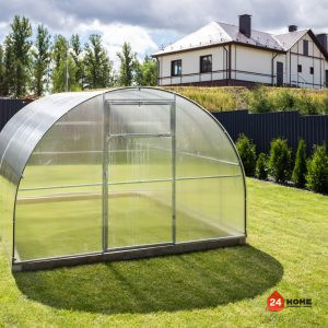 Оранжерия-SUNNY-Classic-покритие-от-поликарбонат-стоманена-конструкция-3×4-м