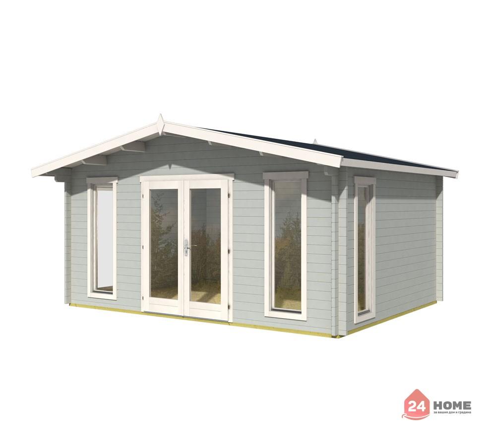 Дървена-къща-Елгин-5х4-44-мм-цвят-светло-син-1