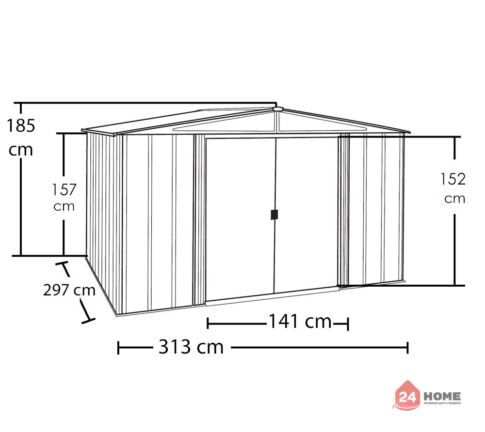 Градинска-барака-за-инструменти-Spacemaker-имитация-на-дърво-smwl1010-6