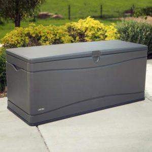 Градинска кутия за съхранение Lifetime XXL карбоново сива 495 л