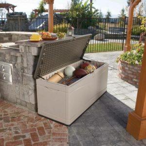 Градинска кутия за съхранение Lifetime XXL 495 л