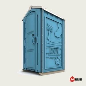 Тоалетна кабина стандарт Арена 110x120x220 cm-2