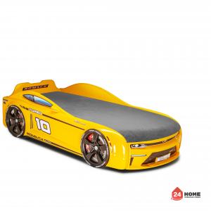 детско-легло-Romack-Energy-M -жълто-със-сива-дамаска