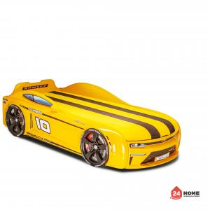 детско-легло-Romack-Energy-M -жълто-с-двуцветна-фирмена-дамаска-2