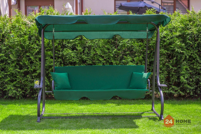 Градинска-люлка-триместна-регулируем-покрив-функция-легло-Relax-Plus-зелена-181_3