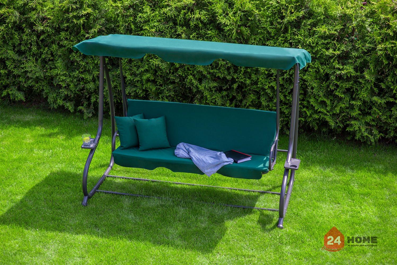 Градинска-люлка-триместна-регулируем-покрив-функция-легло-Relax-Plus-зелена-181_4