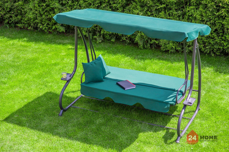 Градинска-люлка-триместна-регулируем-покрив-функция-легло-Relax-Plus-зелена-181_7