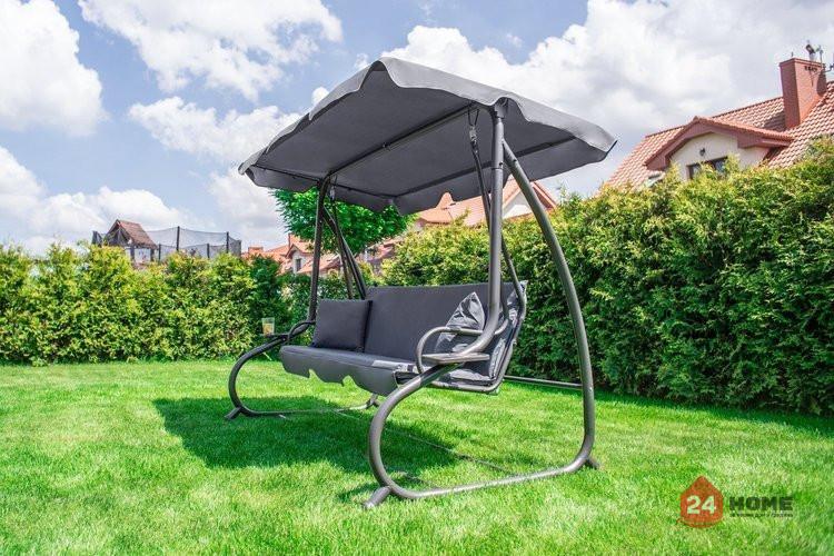 Градинска-люлка-триместна-регулируем-покрив-функция-легло-Relax-Plus-сива-1604_7