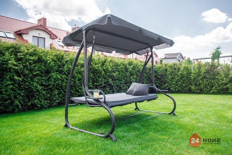 Градинска-люлка-триместна-регулируем-покрив-функция-легло-Relax-Plus-сива-1604_8