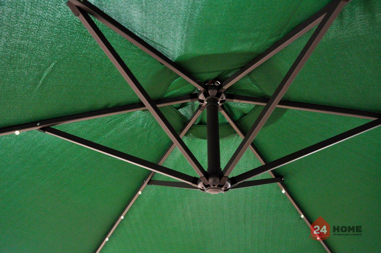 Свободновисящ-чадър-за-слънце-SUNNY-300-см-зелен-143_5
