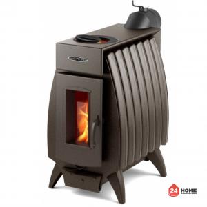 Печка-на-дърва-TMF-Battery-Fire-10-kw-шоколад