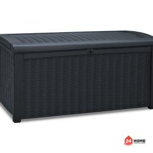 Градинска-кутия-за-съхранение-Keter-Borneo-графит-416L