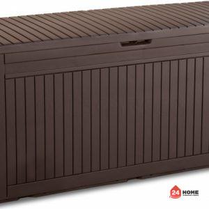Градинска-кутия-за-съхранение-Keter-Comfy-270L-Кафява