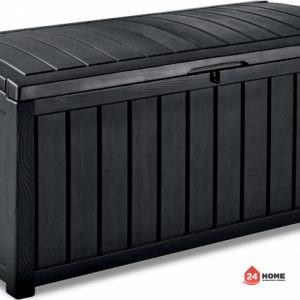Градинска-кутия-за-съхранение-Keter-Glenwood-390L-графит