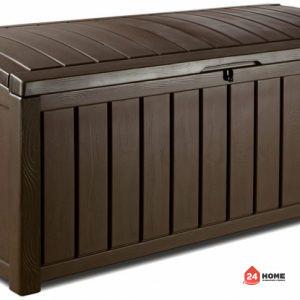 Градинска-кутия-за-съхранение-Keter-Glenwood-390L-кафява