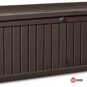 Градинска-кутия-за-съхранение-Rockwood-кафява-570L