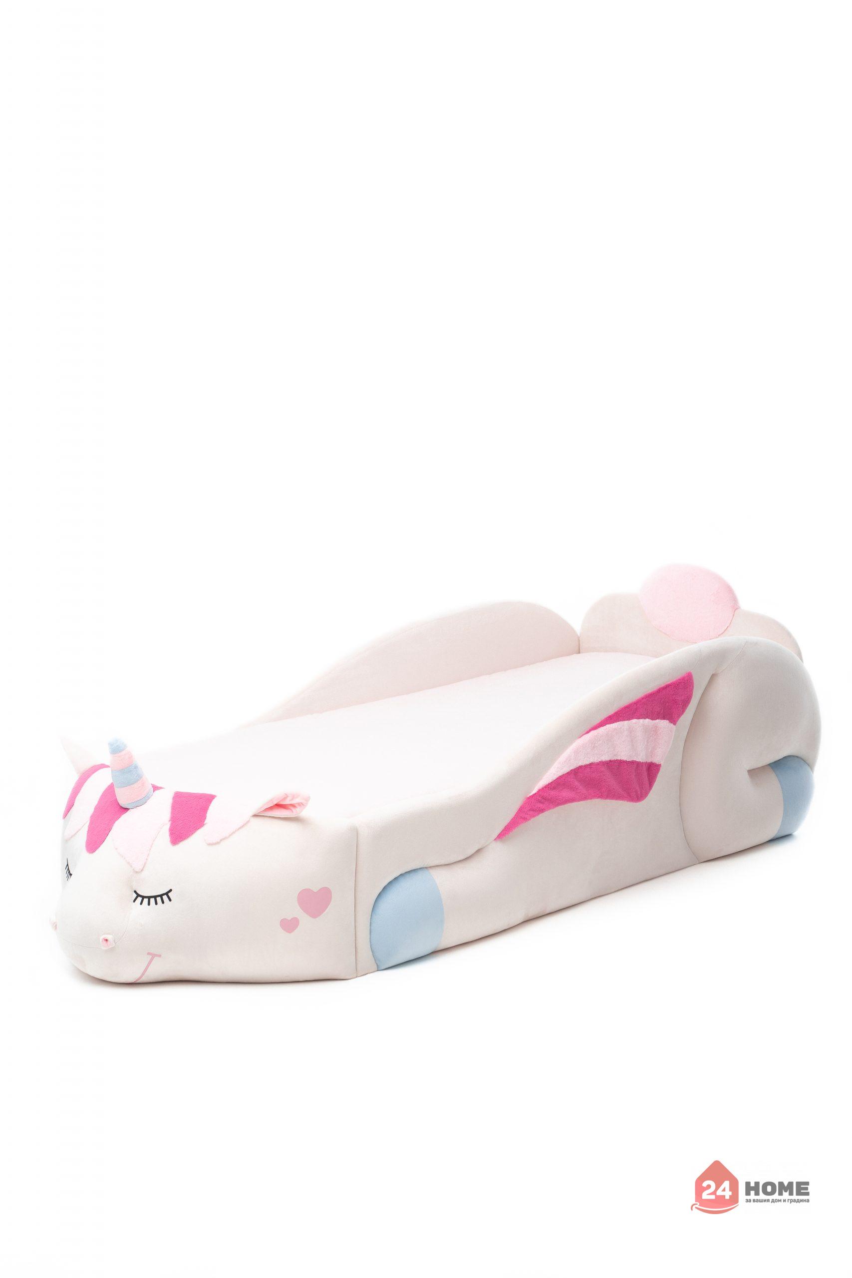 Детско-легло-Romack-еднорог-Даша-матрак-scaled