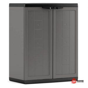 шкаф-за-съхранение-Jolly-low-тъмно-сив-1